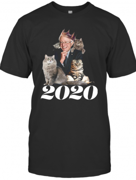 2020 Election Democratic Bernie Sanders Cat shirt T-Shirt