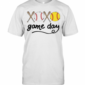 Xoxo Baseball Game Day T-Shirt Classic Men's T-shirt