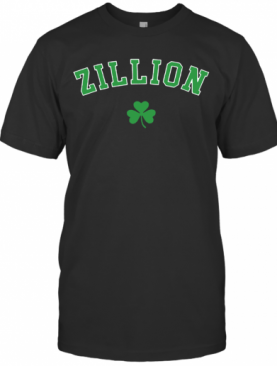 Zillion Beers Shamrock T-Shirt