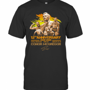 12Th Anniversary 2008 2020 Conor Mcgregor T-Shirt Classic Men's T-shirt