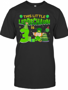 3Rd Birthday St. Patrick'S Day T-Shirt