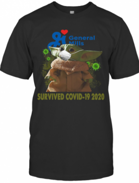 Baby Yoda General Mills Survived Covid 19 2020 T-Shirt