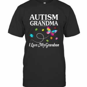 Butterfly Love Autism T-Shirt Classic Men's T-shirt