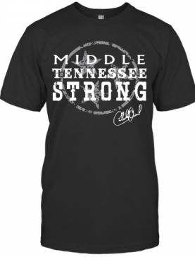 Charlie Daniels Middle Tennessee Strong T-Shirt
