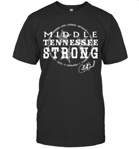 Charlie Daniels Middle Tennessee Strong T-Shirt Classic Men's T-shirt