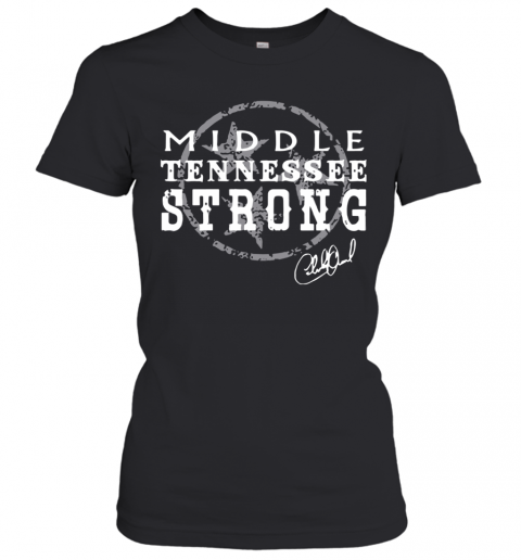 Charlie Daniels Middle Tennessee Strong T-Shirt Classic Women's T-shirt