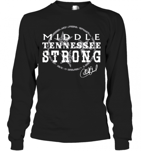 Charlie Daniels Middle Tennessee Strong T-Shirt Long Sleeved T-shirt