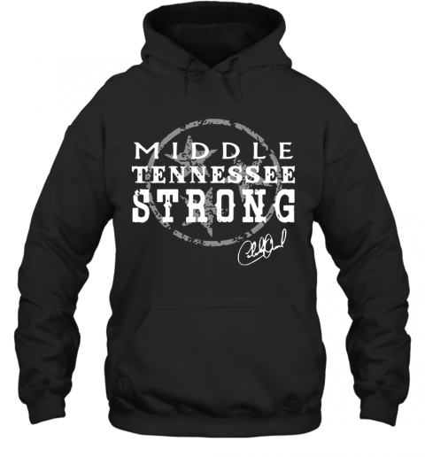 Charlie Daniels Middle Tennessee Strong T-Shirt Unisex Hoodie