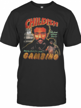Childish Gambino Party Just For Pets T-Shirt