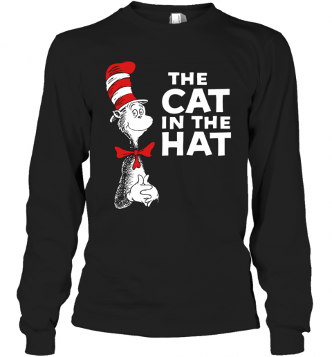 Dr Seuss The Cat In The Hat T-Shirt Long Sleeved T-shirt