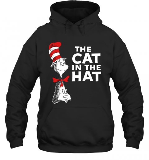 Dr Seuss The Cat In The Hat T-Shirt Unisex Hoodie