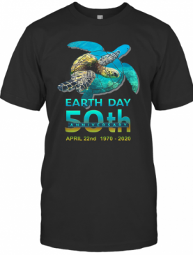 Earth Day 50Th Anniversary April 22Nd 1970 2020 Signatures T-Shirt