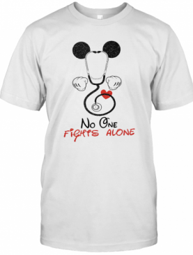 Mickey Mouse Fights Alone T-Shirt