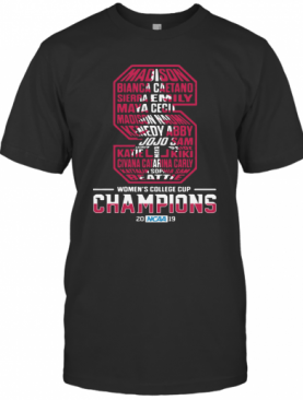 S Women'S College Cup Champions 2019 T-Shirt