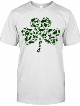 St Patricks Day Cat Happy Cattys Catricks T-Shirt
