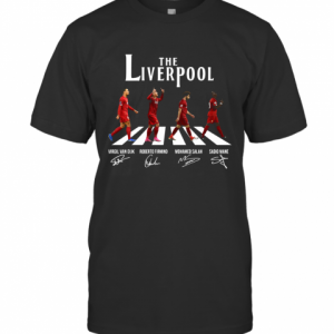The Liverpool Abbey Road Players Signature T-Shirt Classic Men's T-shirt