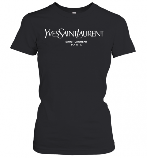 saint laurent t shirt womens