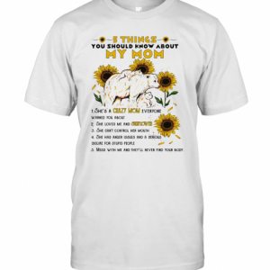 5 Things You Should Know About My Mom Sunflower T-Shirt Classic Men's T-shirt
