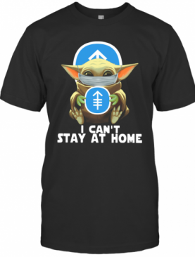 Baby Yoda Face Mask Memorial Sloan Kettering Cancer Center Can't Stay At Home T-Shirt