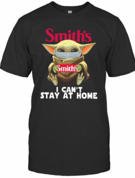 Baby Yoda Smith'S I Can'T Stay At Home T-Shirt