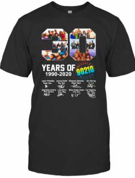 Beverly Hills 90210 Tv Series 30Th Years Of 1990 2020 Signature T-Shirt