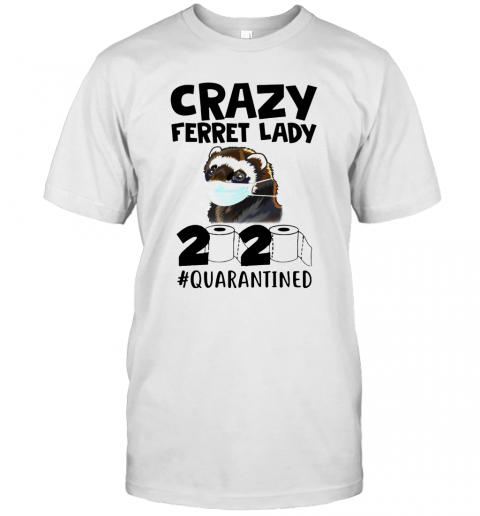 Crazy Ferret Lady 2020 T-Shirt Classic Men's T-shirt