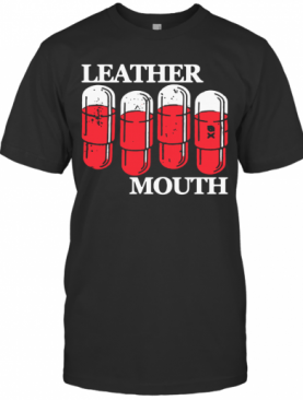 Leather Mouth T-Shirt