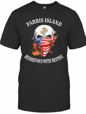Skull Mask American San Diego Rendezvous With Destiny T-Shirt