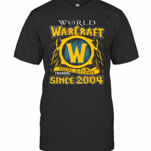 World Warcraft Social Distance Training Since 2004 T-Shirt Classic Men's T-shirt