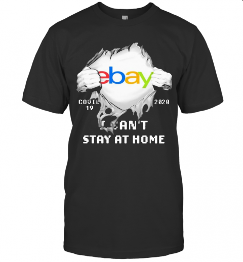 Blood Inside Me Ebay COVID 19 2020 I Can'T Stay At Home T-Shirt Classic Men's T-shirt