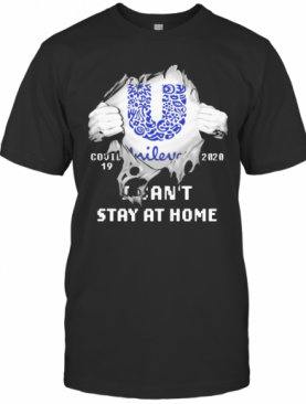 Blood Inside Me Unilever Covid 19 2020 I Can'T Stay At Home T-Shirt