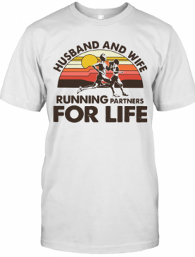 Husband And Wife Running Partners For Life T-Shirt