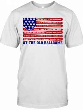 Independence Day At The Old Ballgame T-Shirt