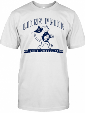 Lions Pride State College Est 1975 Football T-Shirt