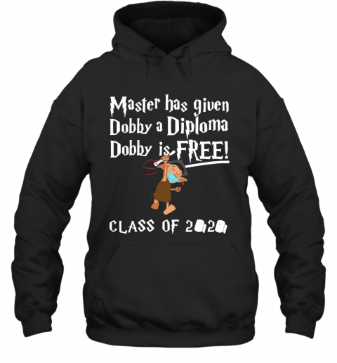 Master Has Given Dobby A Diploma Dobby Is Free Class Of 2020 T-Shirt Unisex Hoodie