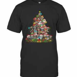 Merry And Bright Owl Christmas Tree T-Shirt Classic Men's T-shirt