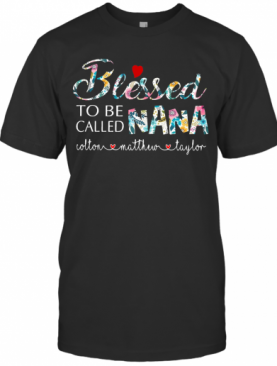 Personalized Bleessed To Be Called Nana T-Shirt