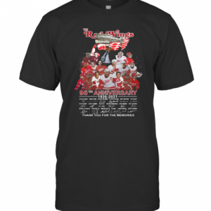 The Red Wings 95Th Anniversary 1926 2021 Thank You For The Memories T-Shirt Classic Men's T-shirt