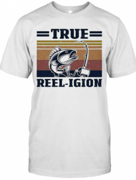 True Reel Igion Fishing Vintage T-Shirt
