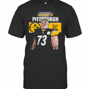 Welcome To Pittsburgh Steelers Football Team Dt Carlos Davis T-Shirt Classic Men's T-shirt