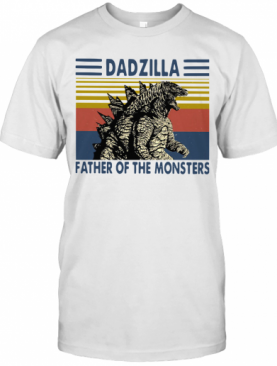 Dadzilla Father Of The Monsters Vintage T-Shirt