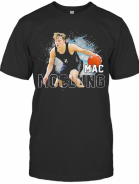 Georgetown Hoyas 2 Mac Mcclung Basketball T-Shirt
