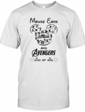 Mouse Ears And Avengers Kind Of Girl T-Shirt