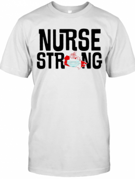 Nurse Strong Mask Map Canada T-Shirt