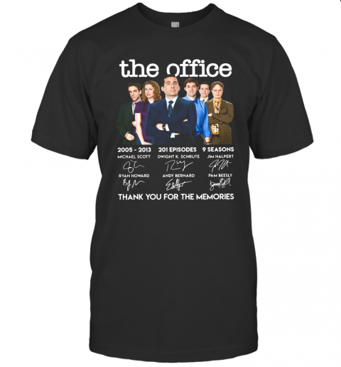 The Office Signature Thank You For The Memories T-Shirt Classic Men's T-shirt