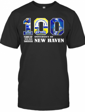 University Of New Haven 100 Year Of 1920 2020 T-Shirt
