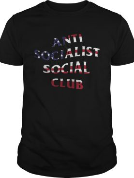 American Flag Anti Socialism Social Club shirt