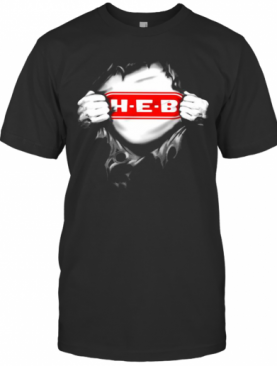 Blood Insides Heb Logo T-Shirt