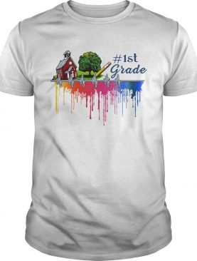 Gardening house paint color 1st grade shirt