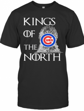 King Of The North Chicago Cubs Logo T-Shirt